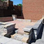 brick paver display