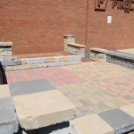 Steffey & Findlay brick patio display