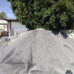 Crusher Run Stone Pile