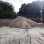 Pile of Pool Sand